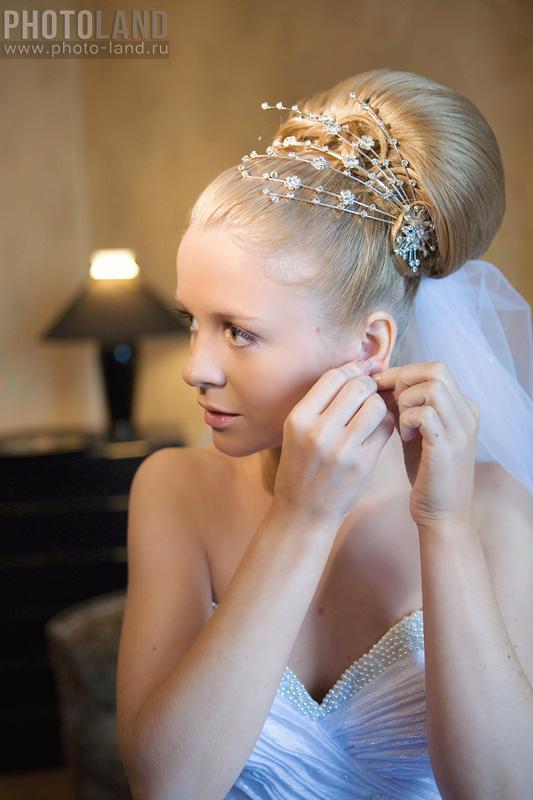 свадебные прически во франции